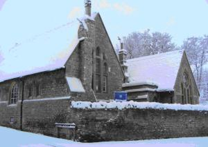 Headington Quarry School in the Snow